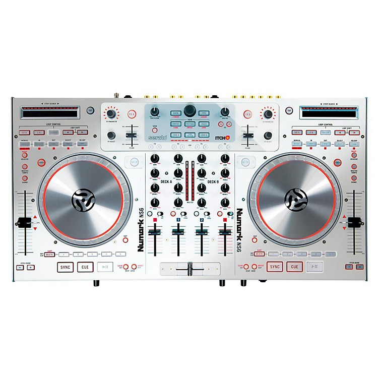 Numark NS6 Digital DJ Controller (White)
