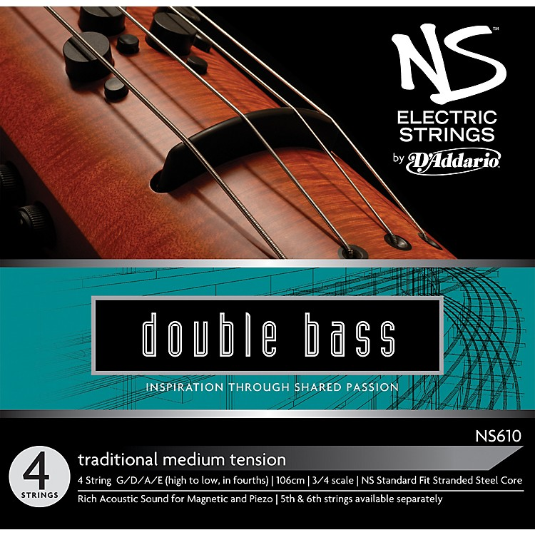 D'AddarioNS610 NS Electric Traditional Bass Strings