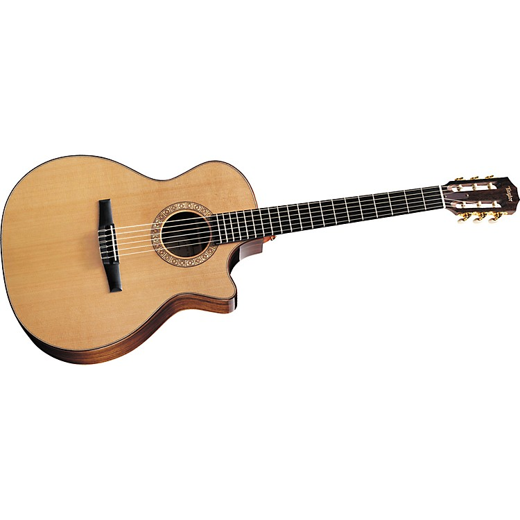 "Taylor NS74ce Grand Auditorium Cutaway Nylon-String Acoustic""Electric Guitar (2011 Model)"
