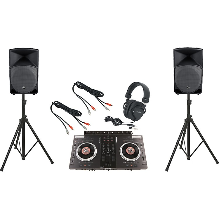 NumarkNS7FX / Mackie Thump TH-15A DJ Package