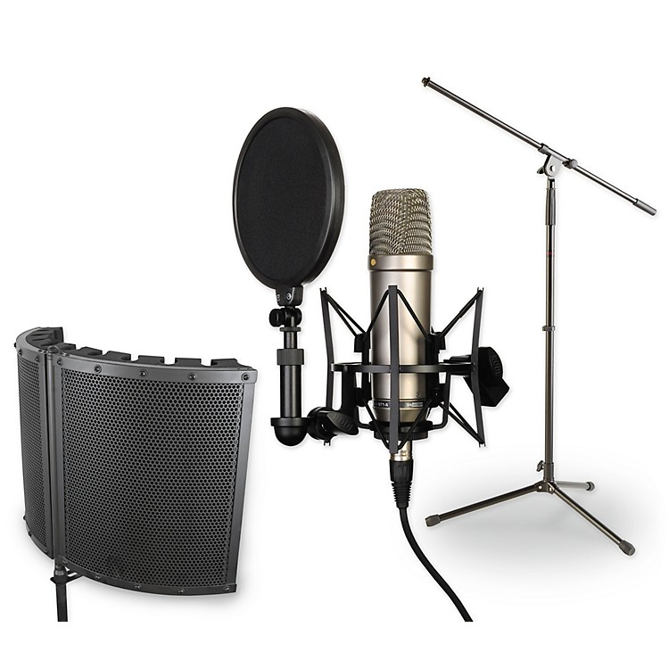 Rode MicrophonesNT1-A VS1 Stand Pop Filter and Cable Kit