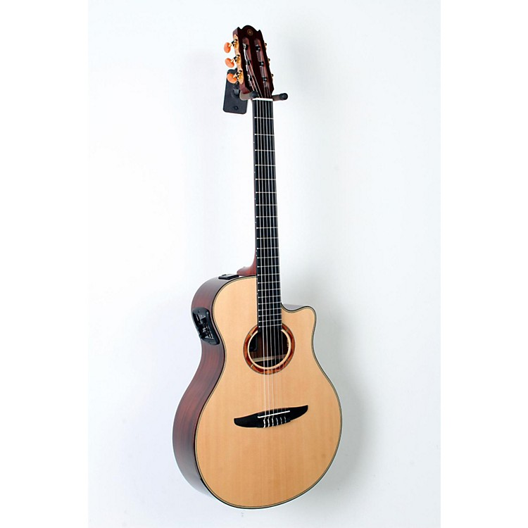 Yamaha NTX1200R Acoustic-Electric Classical Guitar Natural 888365795188