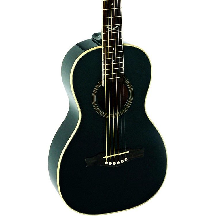 EKO NXT Series Parlor Acoustic Guitar Black