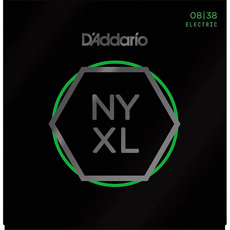 D'AddarioNYXL0838 Extra Super Light Electric Guitar Strings