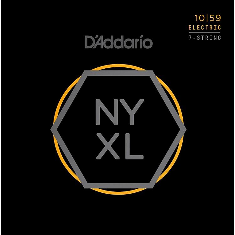 D'AddarioNYXL1059 7-String Light Nickel Wound Electric Guitar Strings (10-59)