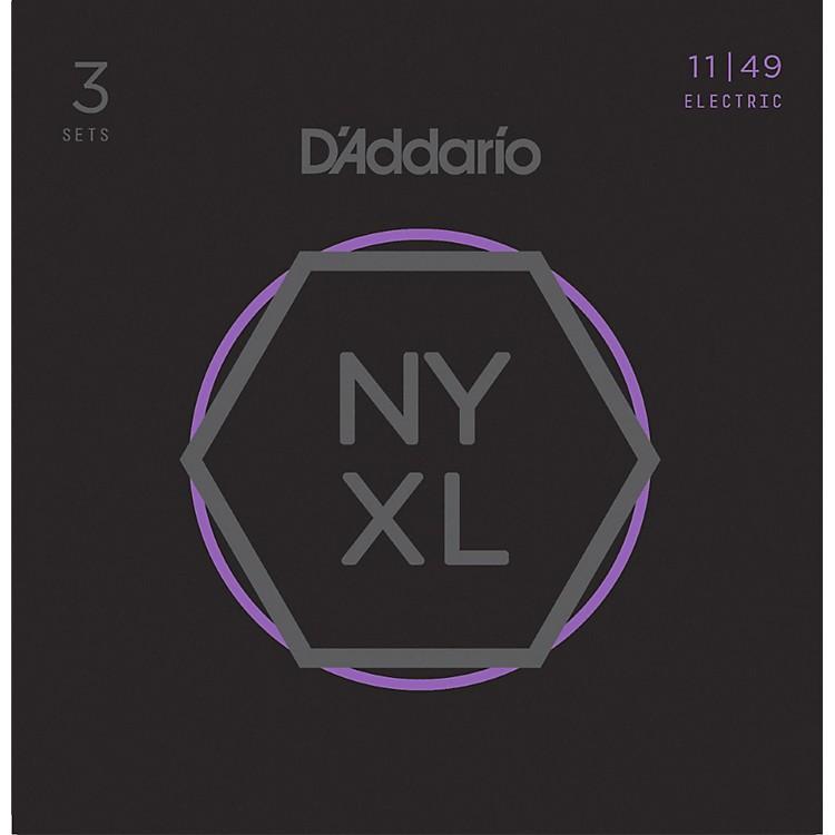 D'AddarioNYXL1149 Medium 3-Pack Electric Guitar Strings