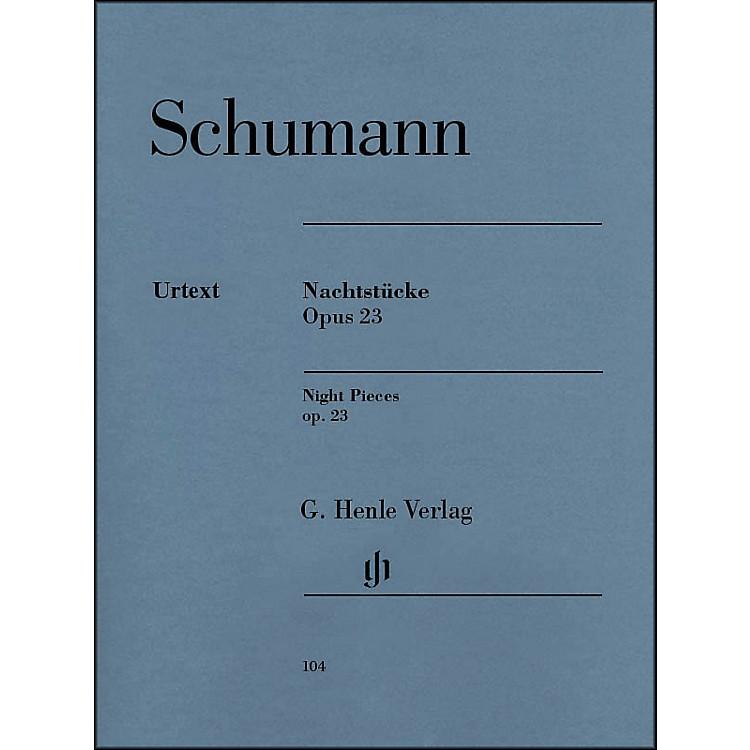 G. Henle VerlagNachtstücke, Op. 23 (Night Pieces) By Schumann