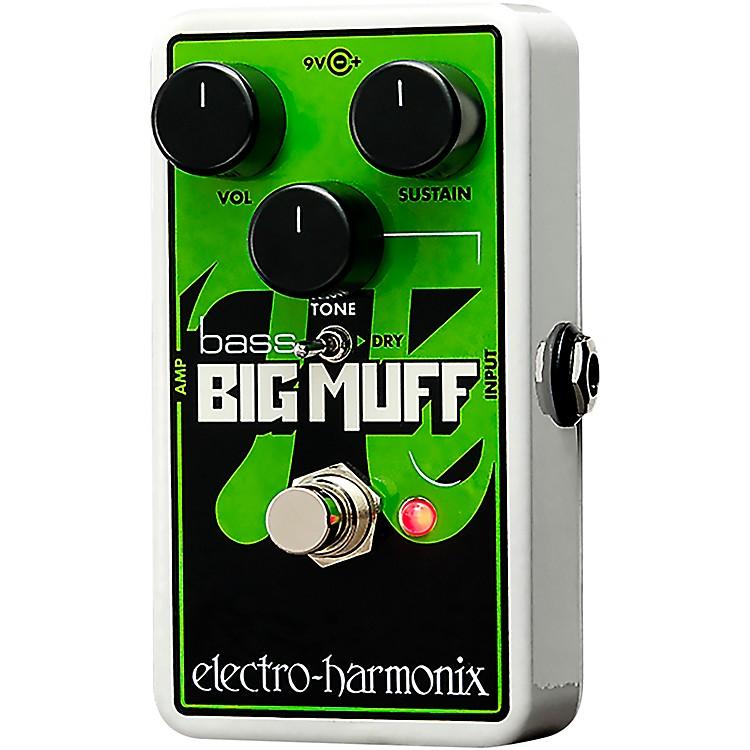 Electro-HarmonixNano Bass Big Muff Distortion Bass Effects Pedal
