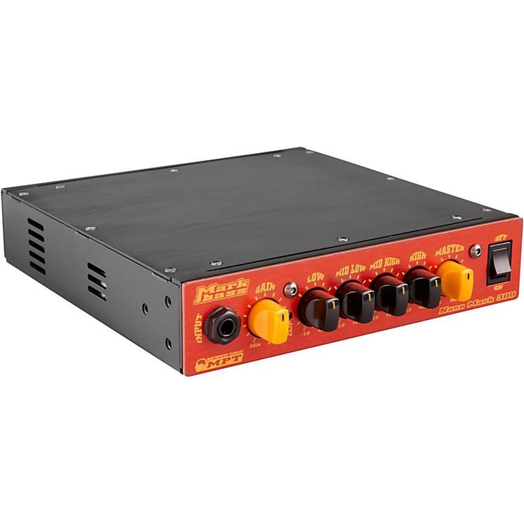 MarkbassNano Mark 300 Compact 300W Bass Amp HeadRed