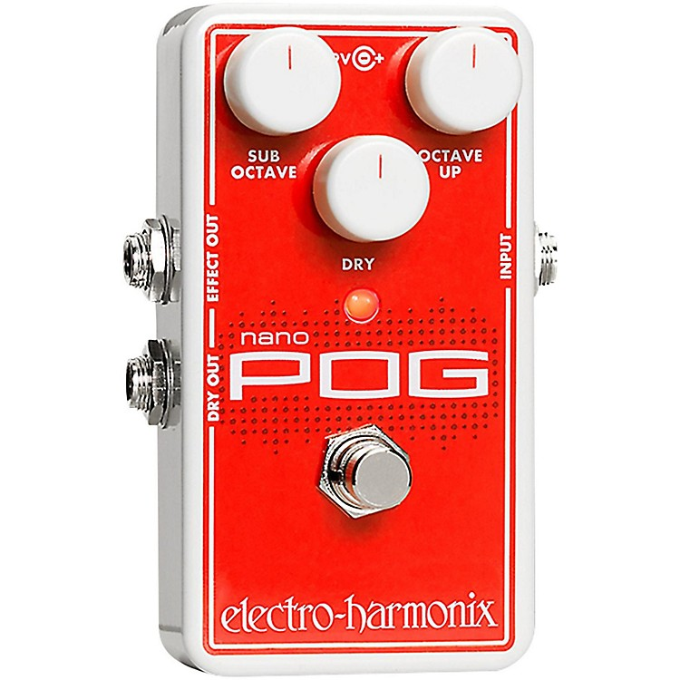 Electro-HarmonixNano POG Polyphonic Octave Generator Guitar Effects Pedal