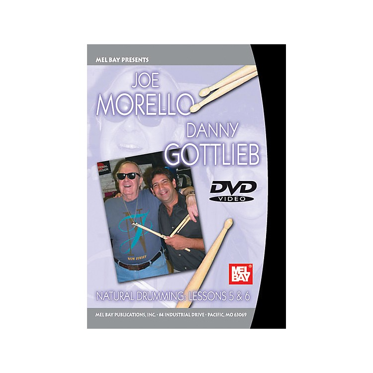 Mel Bay Natural Drumming: Lessons 5 and 6 DVD