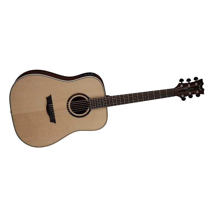 Dean Natural Series Dreadnought Acoustic-Electric Guitar with Aphex Tobacco Sunburst