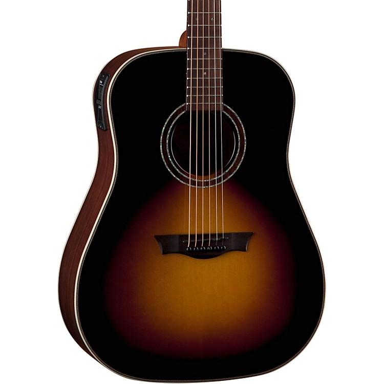 DeanNatural Series Dreadnought Acoustic-Electric Guitar with AphexTobacco Sunburst
