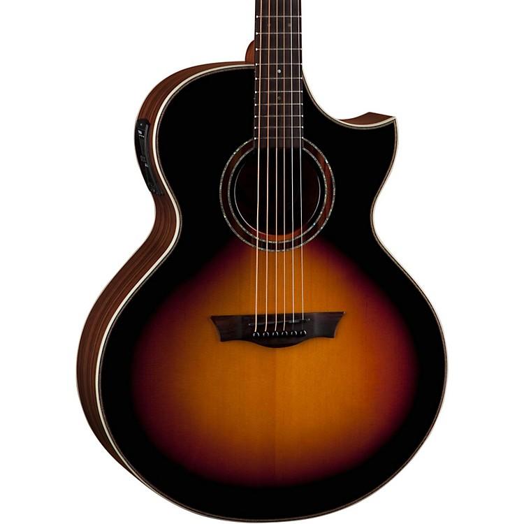 DeanNatural Series Dreadnought Florentine Acoustic-Electric GuitarTobacco Sunburst