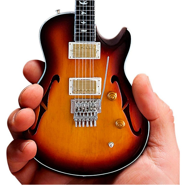 Axe HeavenNeal Schon Sunburst NS-15 PRS Miniature Guitar Replica Collectible