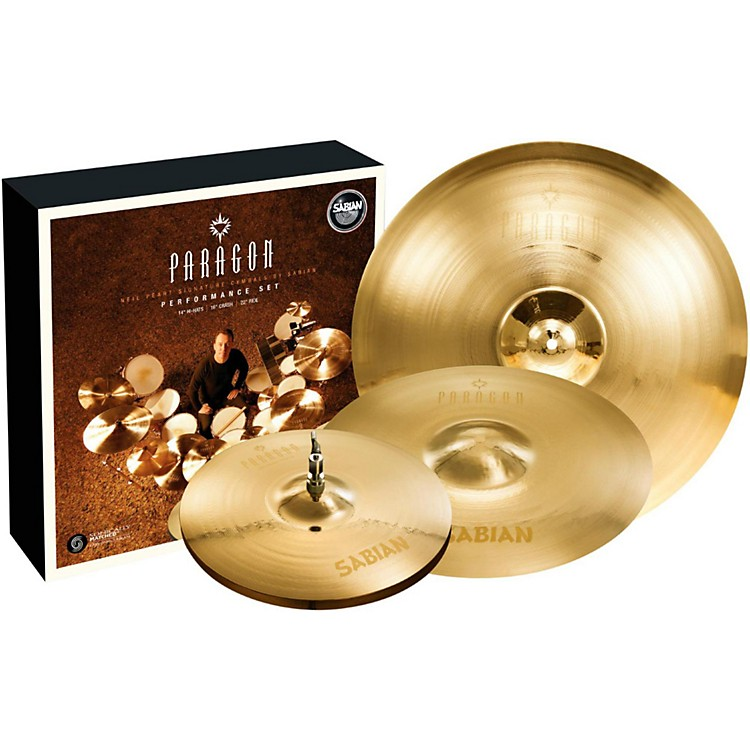 SabianNeil Peart Paragon Performance Cymbal Pack Brilliant