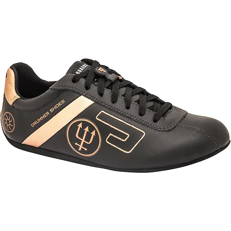 Urbann Boards Neil Peart Signature Shoe, Black-Gold 12.5
