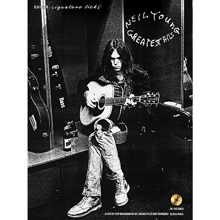 Hal Leonard Neil Young - Guitar Signature Licks Book/CD