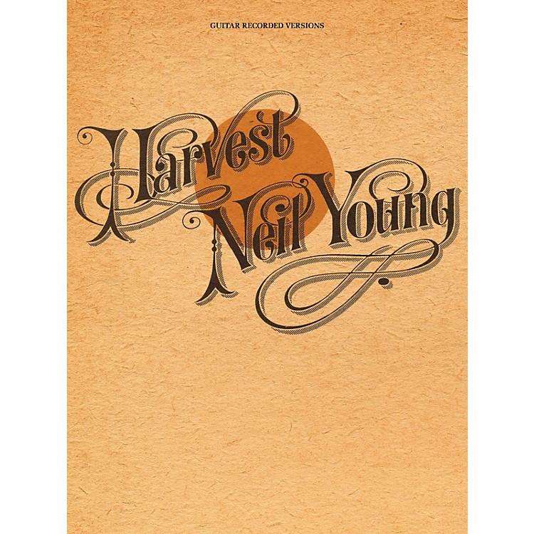 Hal LeonardNeil Young - Harvest Guitar Tab Songbook