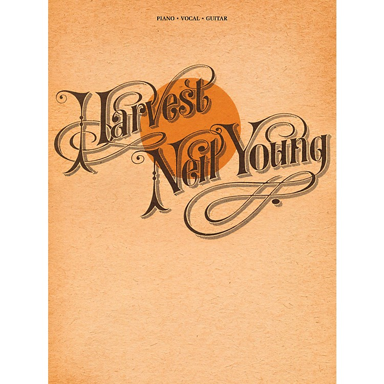 Hal LeonardNeil Young - Harvest for Piano/Vocal/Guitar (P/V/G)