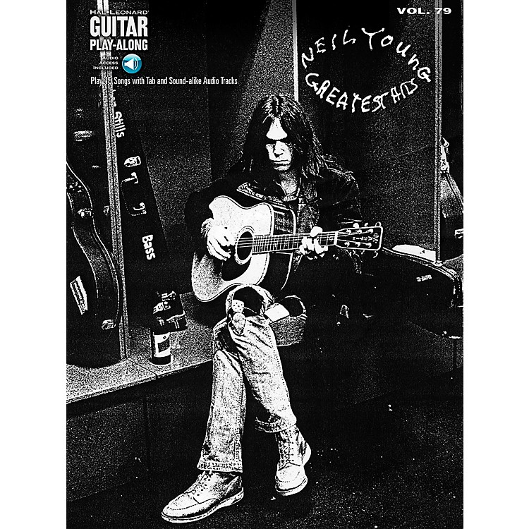 Hal Leonard Neil Young Greatest Hits - Guitar Play-Along Volume 79 Book/CD