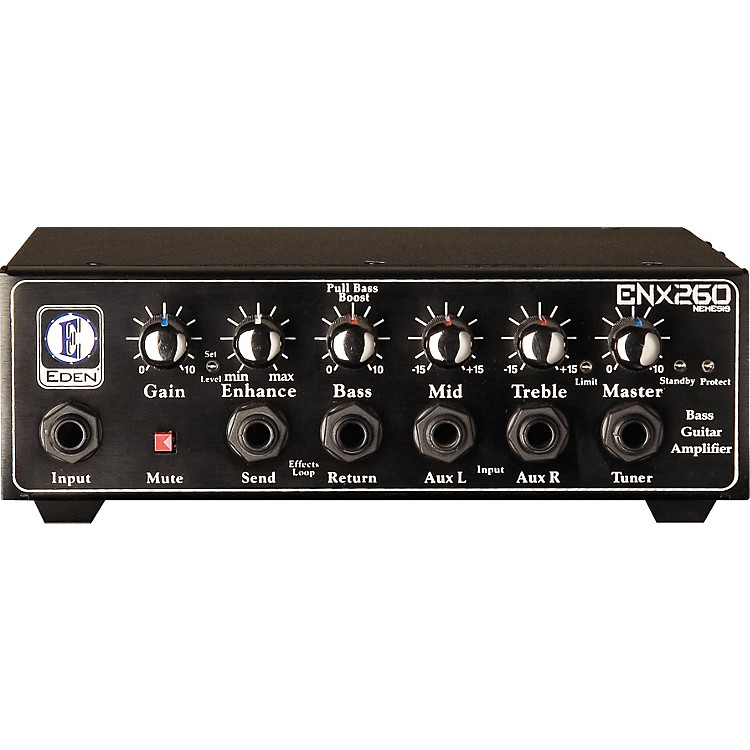 Eden Nemesis ENX260 250W Bass Amplifier Head