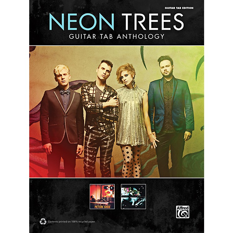 AlfredNeon Trees Anthology Guitar TAB Book