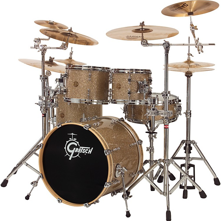 Gretsch Drums New Classic Euro 4-Piece Shell Pack Vintage Glass