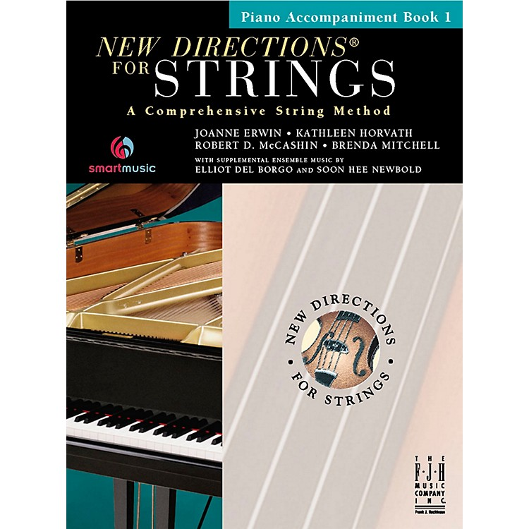 FJH MusicNew Directions For Strings, Piano Accompaniment Book 1