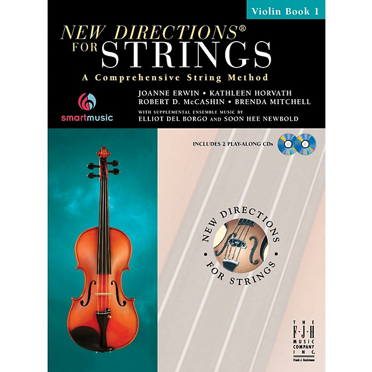 FJH MusicNew Directions For Strings, Violin Book 1