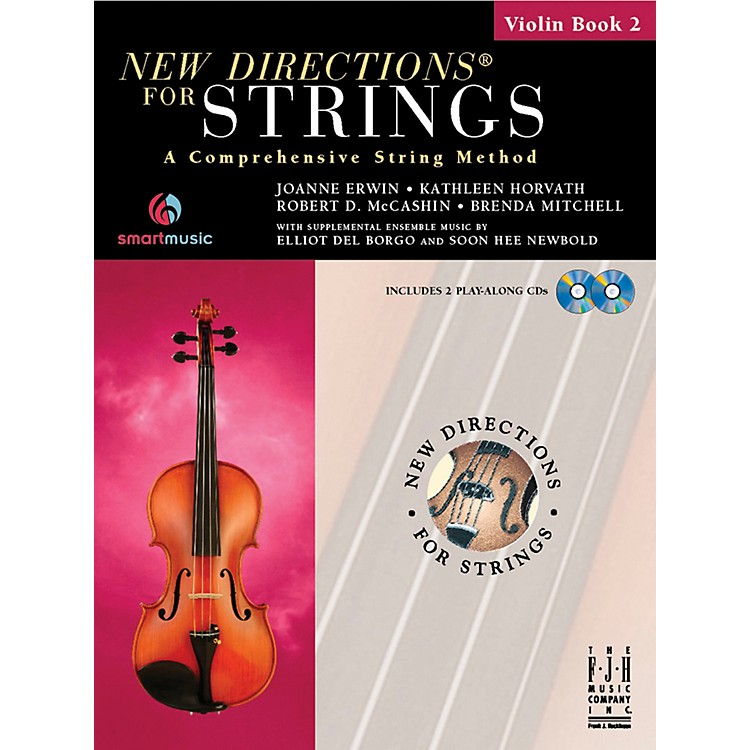 FJH Music New Directions For Strings, Violin Book 2