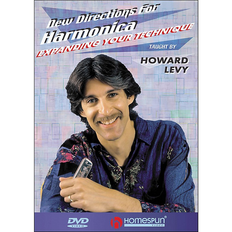 Homespun New Directions for Harmonica DVD