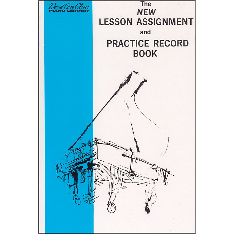 AlfredNew Lesson Assignment and Practice Record Book
