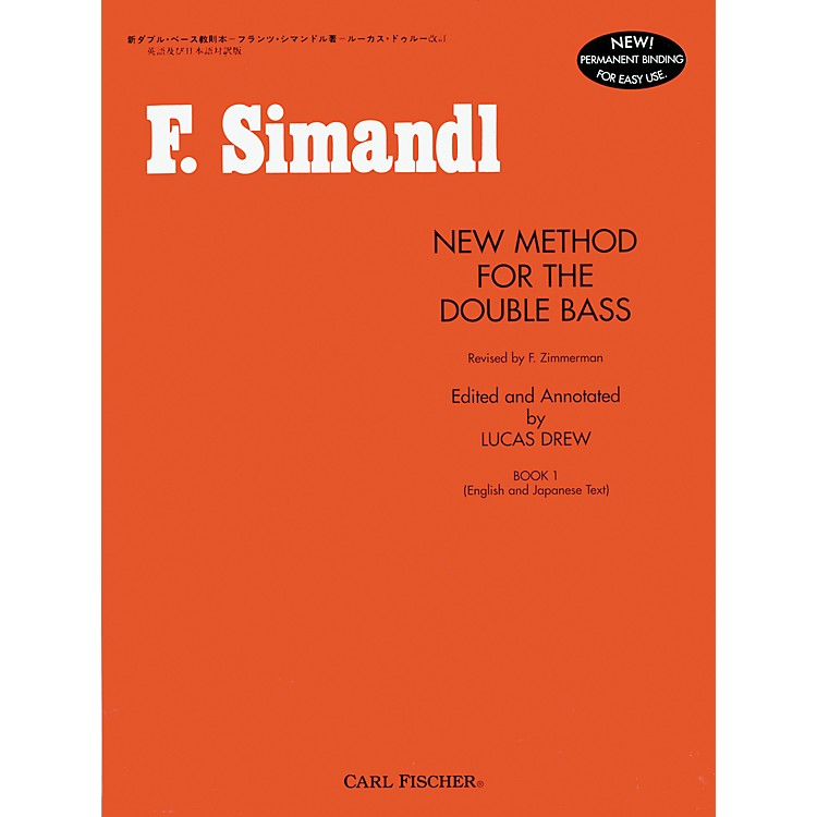 Carl FischerNew Method For The Double Bass Book