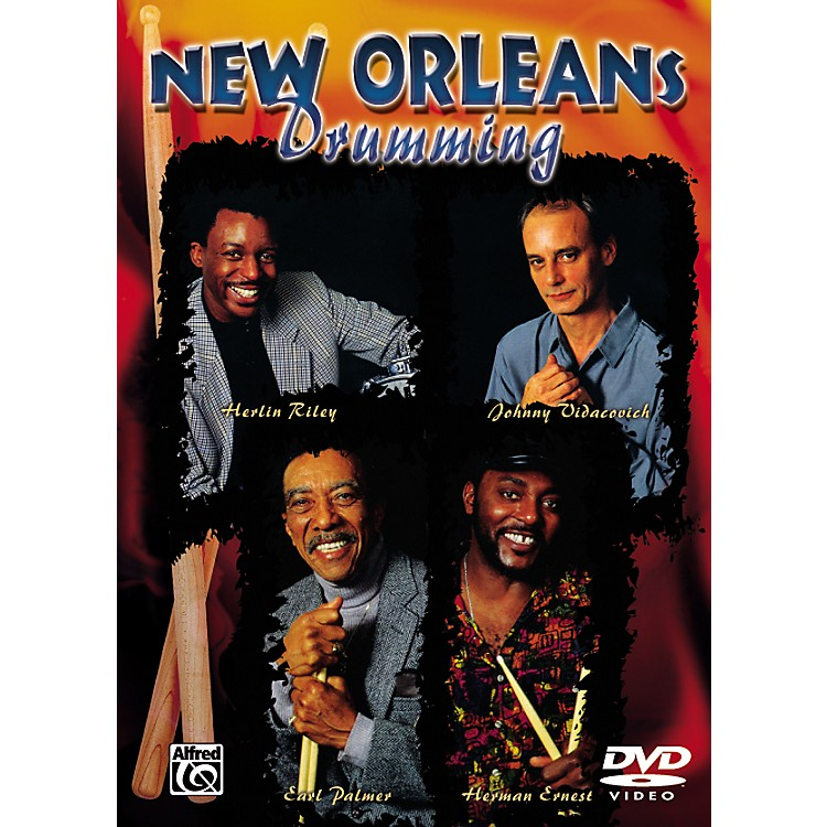 AlfredNew Orleans Drumming Series (DVD)