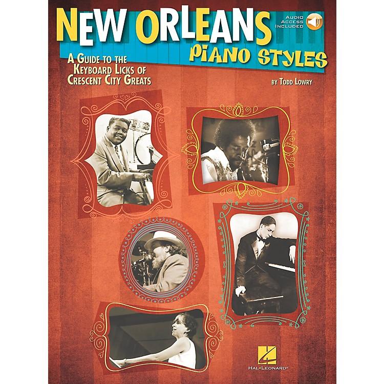 Hal LeonardNew Orleans Piano Styles - Book/CD