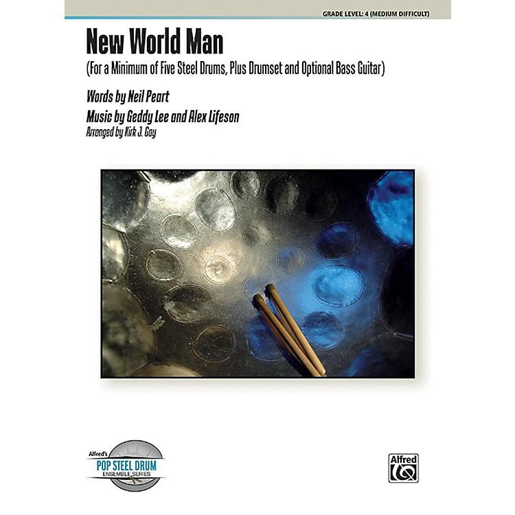 AlfredNew World Man Steel Drum Ensemble Score & Parts