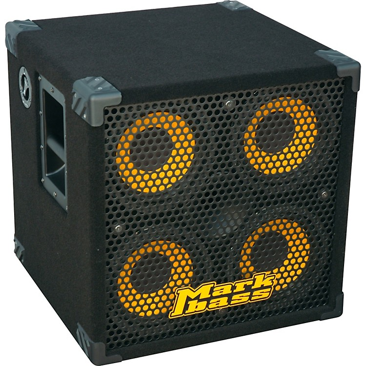 Markbass New York 804 800W 4x8 Bass Speaker Cabinet Black 8 Ohm