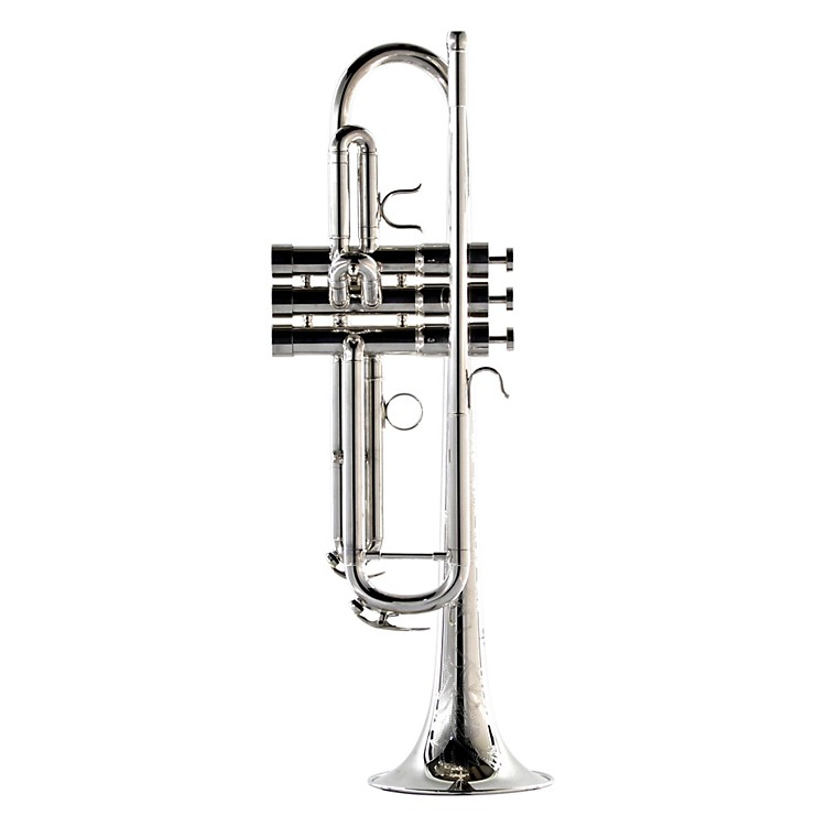 BAC Custom Brass New York City Model Professional Bb Trumpet NYCS Silver