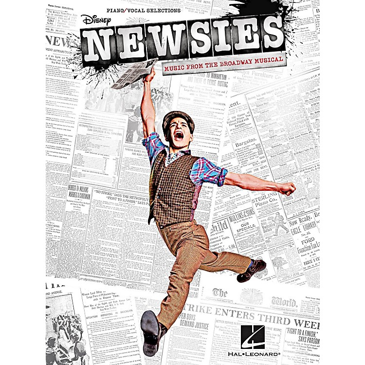 Hal LeonardNewsies - Music From The Broadway Musical for Piano/Vocal/Guitar Songbook
