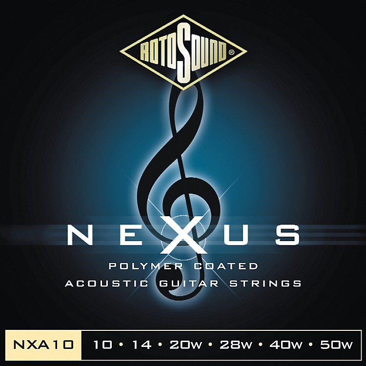 RotosoundNexus Polymer Extra Light Coated Acoustic Strings