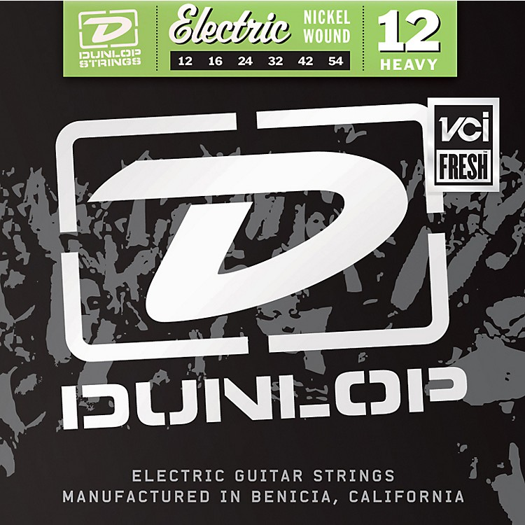 Dunlop Nickel Electric Guitar Strings - Heavy