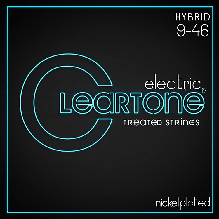 Cleartone Nickel-Plated Light Hybrid Electric Guitar Strings
