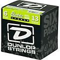 Dunlop Nickel Plated Steel Electric Guitar Strings Extra Heavy 6-Pack