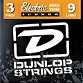 Dunlop Nickel Plated Steel Electric Guitar Strings Light 3-Pack