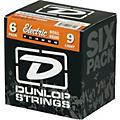 Dunlop Nickel Plated Steel Electric Guitar Strings Light 6-Pack