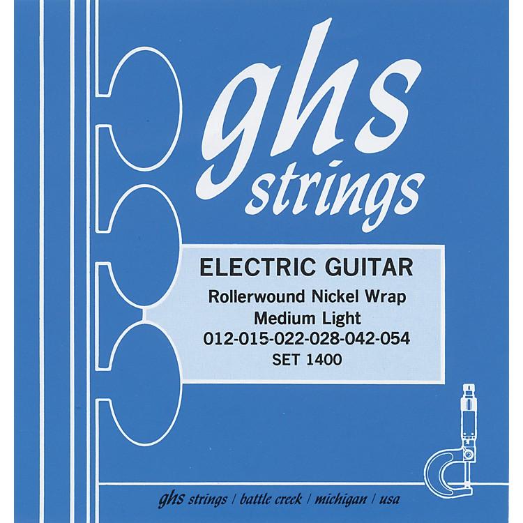 GHSNickel Rockers Medium Light - Wound Third String