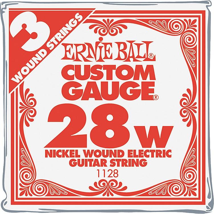 Ernie BallNickel Wound Single Guitar Strings 3-Pack.028 Gauge3-Pack