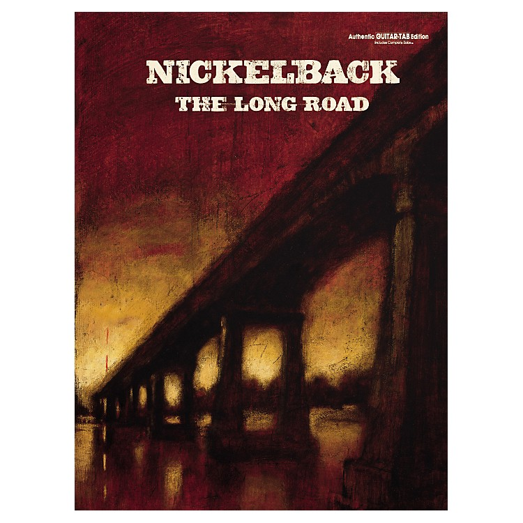 Alfred Nickelback The Long Road Guitar Tab Songbook