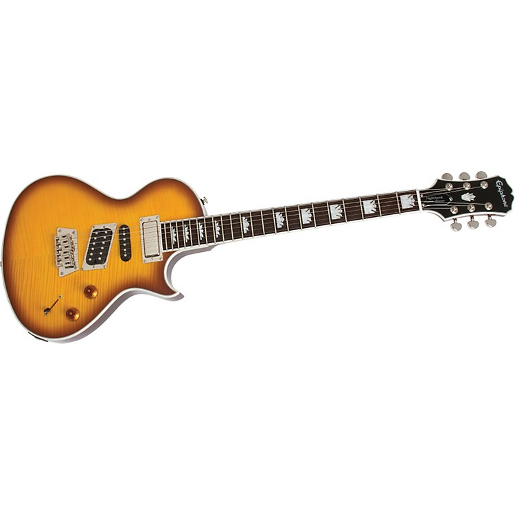 Epiphone Nighthawk Electric Guitar Trans Amber